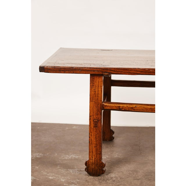 Asian Early 19th Century Chinese Elm Table For Sale - Image 3 of 9