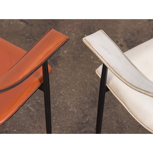 P40 Armchairs by Giancarlo Vegni and Gianfranco Gualtierotti - a Pair For Sale - Image 9 of 12