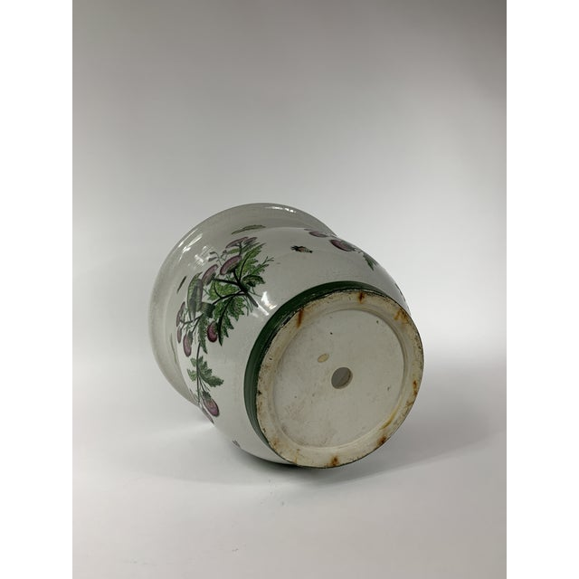 Late 20th Century Ceramic Floral Planter For Sale - Image 4 of 7