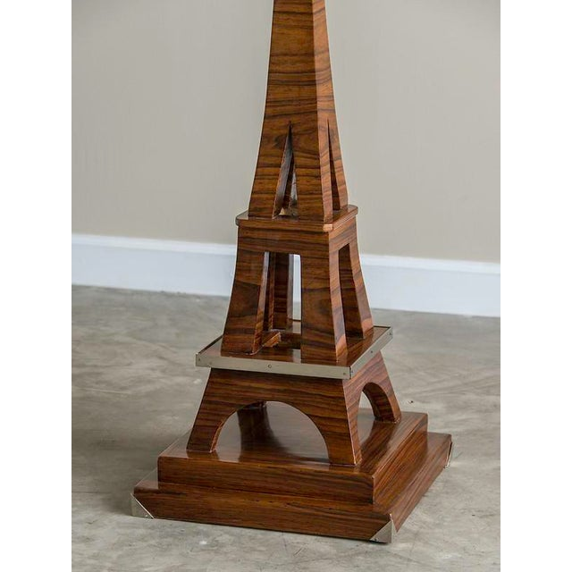 Cast Iron Art Deco Period Grand Scale Eiffel Tower of Rosewood, France c.1930 For Sale - Image 7 of 7