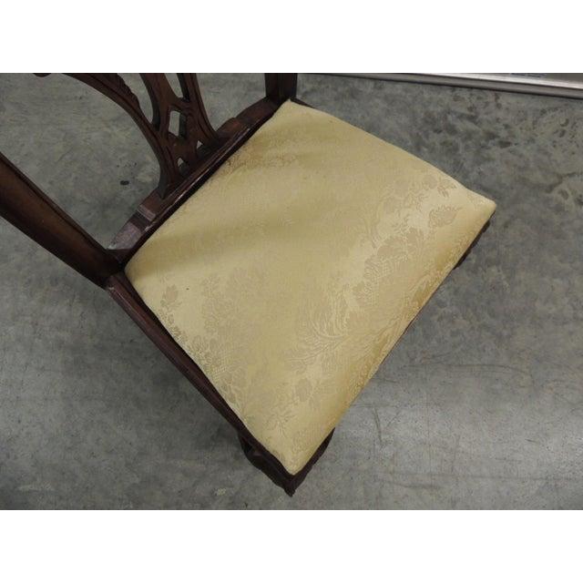 Vintage Carved Wood Children Chair - Image 4 of 5