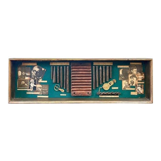 History of Cigars Diorama Shadow Box For Sale