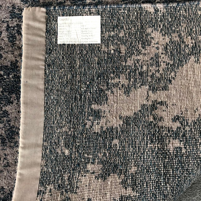 Atelier Lapchi Nebulous Gray Wool Hand Knotted Rug - 8' X 11' For Sale - Image 5 of 6
