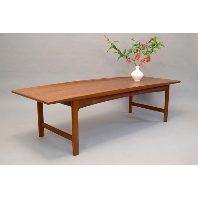 Dux Folke Ohlsson Sculptural Teak Coffee Table - Image 3 of 11