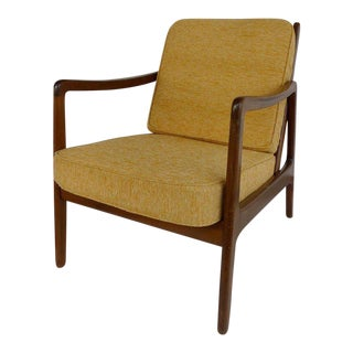 Ole Wanscher Danish Modern Armchair for John Stuart For Sale