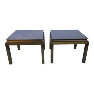 Mid-Century Maison Jansen Side Tables - a Pair For Sale