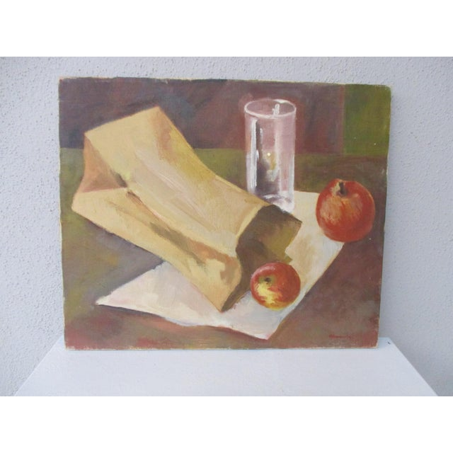 Modernist Still Life Painting - Image 4 of 8