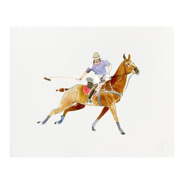 """""""Polo Swing"""" Giclée Art Print by Felix Doolittle - 16x20 For Sale"""
