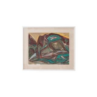 """""""Oil Landscape #42"""", by Ferdinand Wahl"""