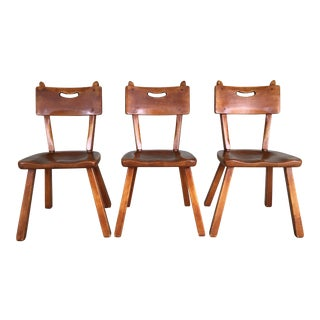 Cushman Colonial Creations Malden Chairs - Set of 3 For Sale