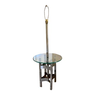 Thayer Coggin Lamp Table by Milo Baughman For Sale