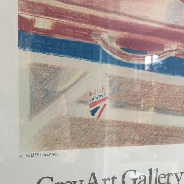 1980s David Hockney Exhibition Print For Sale - Image 5 of 11