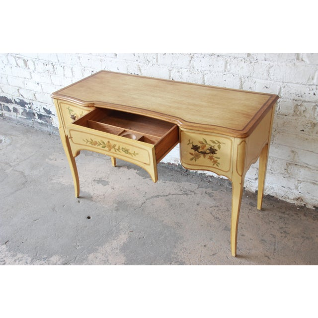 John Widdicomb Vintage French Writing Desk For Sale In South Bend - Image 6 of 12