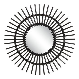 Curated Kravet Forest Mirror - Black For Sale