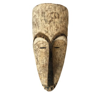 "Superb African Fang Mask Gabon 20.5"" H For Sale"