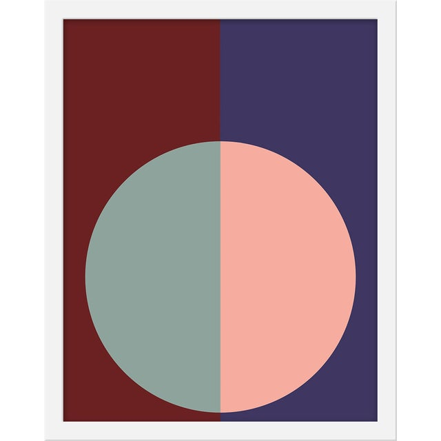 "Small ""Burgundy & Purple Forever"" Print by Stephanie Henderson, 16"" X 20"" For Sale"
