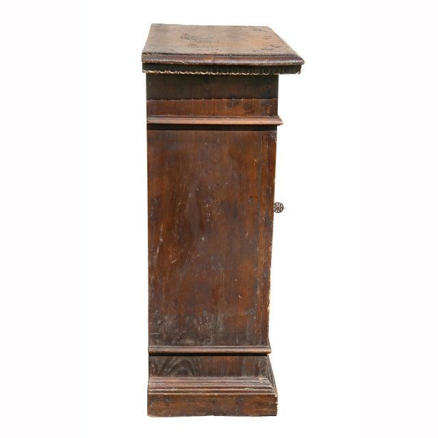 Italian Baroque Walnut Cabinet For Sale - Image 10 of 13