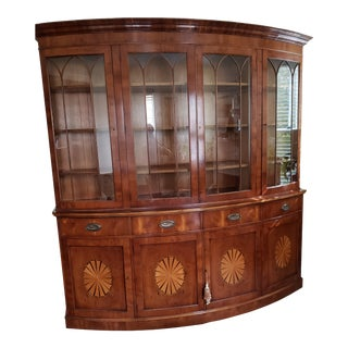 English Breakfront/Bookcase For Sale