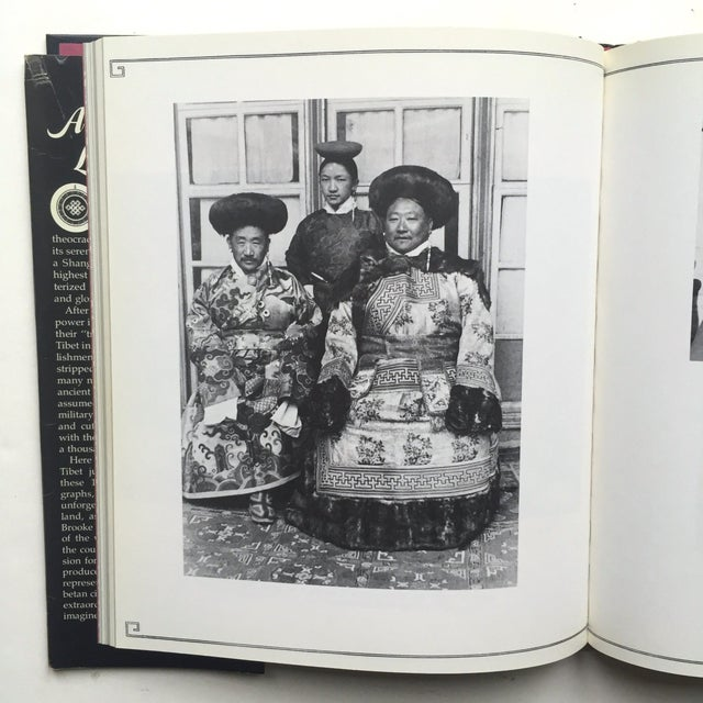 """Asian """"A Portrait of Lost Tibet"""" Cultural History Vintage 1980 1st Edtn Photography Book For Sale - Image 3 of 10"""
