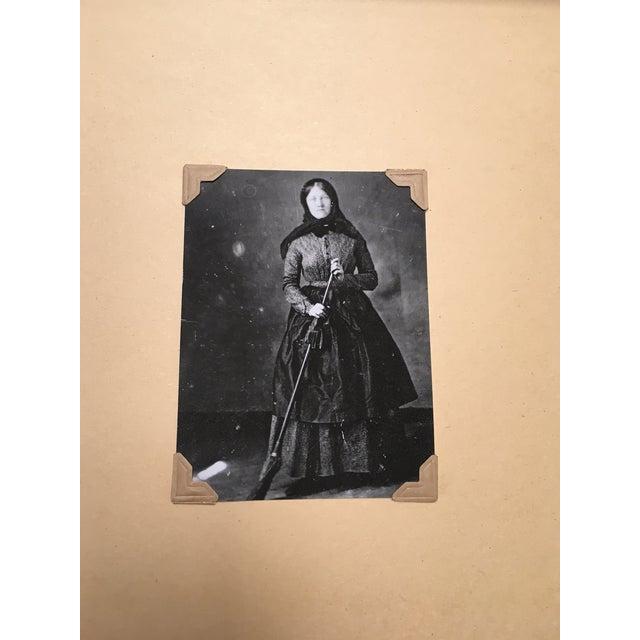 Vintage Framed Daguerreotype Prints - Set of 3 - Image 4 of 7