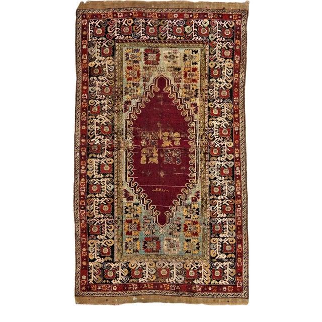 1900 Antique Turkish Sivas Rug For Sale