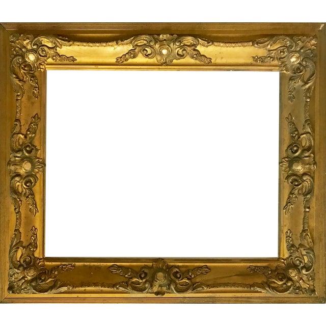 Antique Gilt Carved Picture Frame - Image 5 of 5