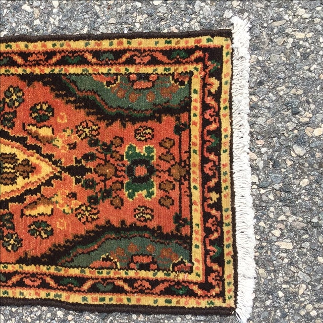 Hamadan Persian Rug - 1′6″ × 2′6″ - Image 3 of 9