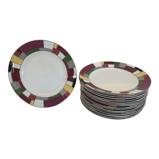 Kate Spade Service Dinner Plates -Set of 16 For Sale