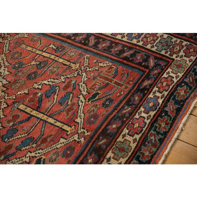 "1930s Vintage Kurdish Square Carpet - 5'5"" X 6'2"" For Sale - Image 5 of 12"