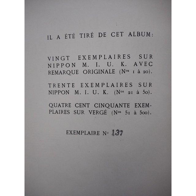 "Vintage Ltd. Ed. Hand Colored Image By Guy Arnoux""Les Femmes De Ce Temps""-L'Interessee- Self Interest-France-1920 - Image 6 of 8"