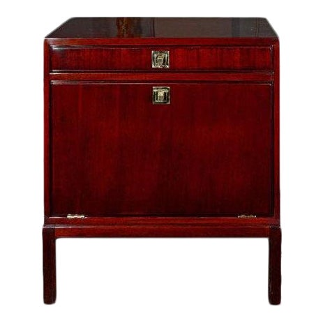 Tommi Parzinger for Charak Modern, Mahogany Cabinet, Usa, 1950s For Sale