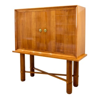 1940s Jean Pascaud Cabinet For Sale