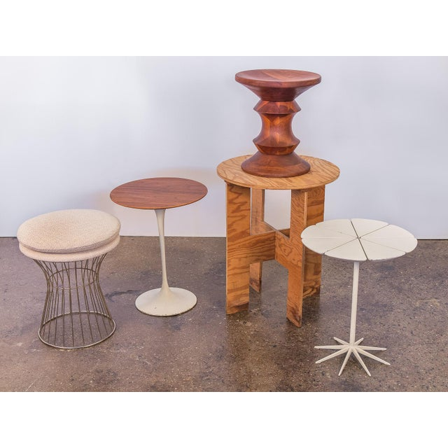 Metal Warren Platner Style Wire Stool For Sale - Image 7 of 7