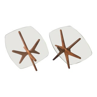 "1960s Vintage Adrian Pearsall for Craft Associates ""Jacks"" Side Tables - A Pair For Sale"