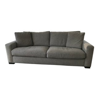 Modern Room & Board Two-Cushion Metro Sofa For Sale