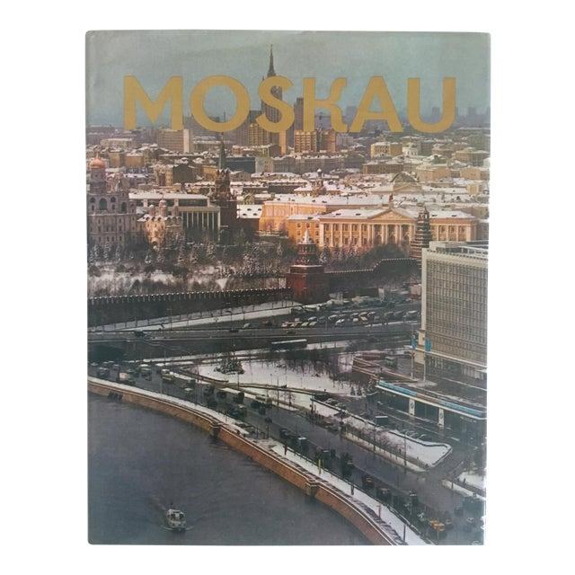 """ Moskau "" Vintage 1975 Photography Cultural Travel Large Art Book in German For Sale"