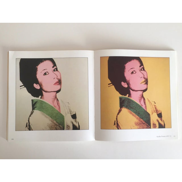 """Andy Warhol """"Warhol Portraits of the 70's"""" Vintage 1979 Rare 1st Edition Collector's Art Book For Sale - Image 4 of 11"""
