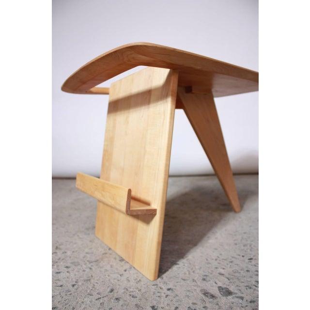 Early Birch Jens Risom Magazine Table Model T-539 - Image 3 of 10