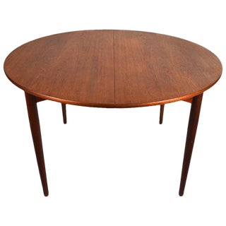 1950s Scandinavian Modern Sven Madsen Teak Dining Table For Sale