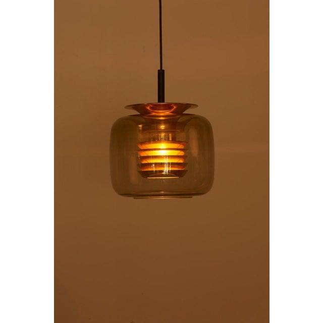 1960s Pendant Lamp in Manner of Hans-Agne-Jakobsson For Sale - Image 9 of 12