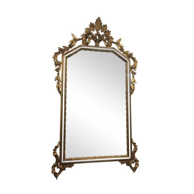 LaBarge Gilt Mirror For Sale
