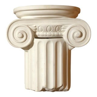 1980s Vintage Greek Column Wall Sconce For Sale