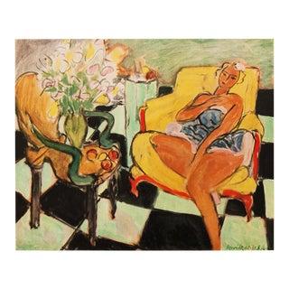 "1946 Henri Matisse, ""Dancer Seated on a Chair"" Original Period Parisian Lithograph For Sale"