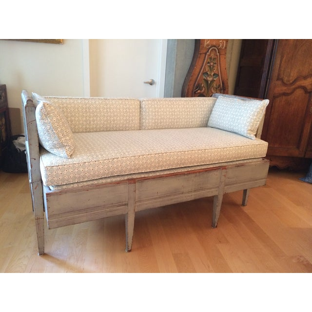 Antique Gustavian Daybed - Image 2 of 11