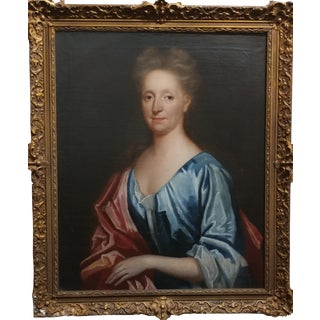 18th century Portrait of a French Woman -Oil painting