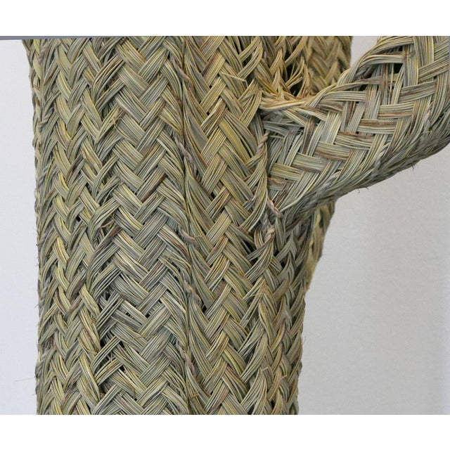 2010s Handwoven Cactus From Morocco For Sale - Image 5 of 6