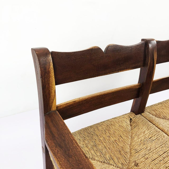 1950s Midcentury Livingroom Set in the Style of Clara Porset- 3 Pieces For Sale - Image 5 of 8