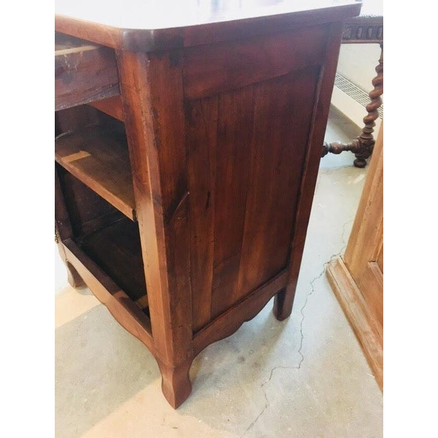 Traditional Little Antique French Buffet For Sale - Image 3 of 11