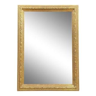 Friedman Brothers Rectangular Gilt Mirror For Sale