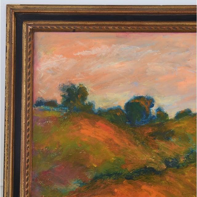 Mid 20th Century Large Original Juan Pepe Guzman, Ojai California Oil Painting For Sale - Image 5 of 9